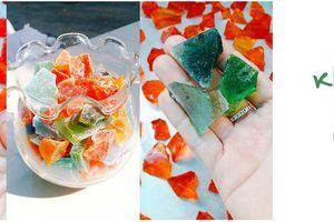 Làm kẹo đá quý Kohakotou lấp lánh sắc màu