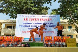 Tập huấn phòng chống đuối nước cho học sinh tại Đồng Tháp