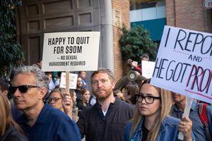 Nhân viên Google xuống đường biểu tình, phản đối nạn quấy rối tình dục