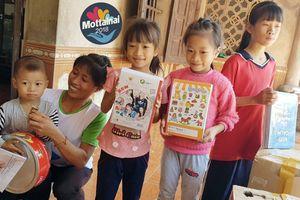 Mottainai 2018 hỗ trợ 4 trẻ em nghèo mồ côi cha vì tai nạn giao thông
