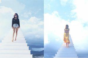 Cầu thang vô cực Đà Lạt gây sốt vì cứ tới là có ảnh đẹp