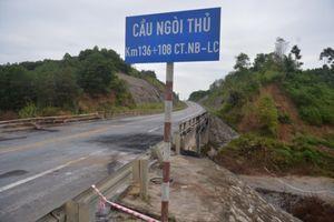 Tuyến cao tốc cầu Ngòi Thủ - Km136+108 phục vụ trở lại kể từ ngày 3/11/2018