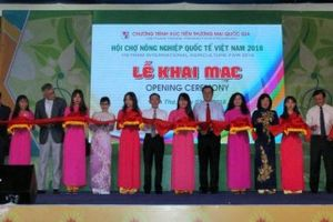 Khai mạc Hội chợ Nông nghiệp quốc tế Việt Nam 2018