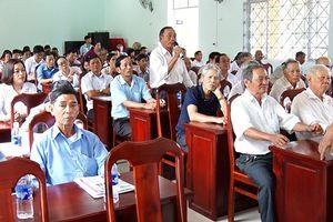 Đại biểu HĐND tỉnh tiếp xúc cử tri TX.Long Khánh