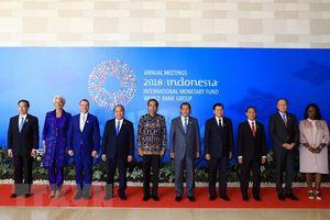 Hội nghị thường niên IMF - WB: Tập trung bàn về các vấn đề kinh tế toàn cầu