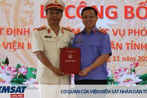 Trao quyết định bổ nhiệm Phó Viện trưởng VKSND tỉnh Lào Cai