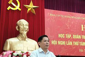 Bộ trưởng Nguyễn Văn Thể quán triệt và triển khai thực hiện NQ Hội nghị lần 8 BCH TƯ Đảng Khóa XII