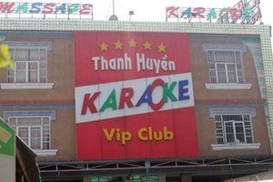 Gần 70 nam nữ phê ma túy trong quán karaoke lúc rạng sáng