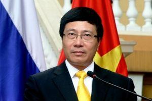 Phó thủ tướng Phạm Bình Minh: Việt Nam đã có FTA với 7/10 quốc gia thành viên Hiệp định CPTPP