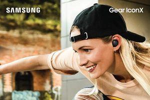 Samsung ra mắt tai nghe không dây Gear IconX 2018