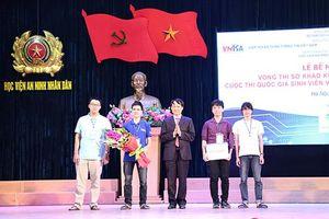 ĐH Công nghệ đoạt giải Nhất thi Sinh viên với An toàn thông tin 2018 khu vực miền Bắc