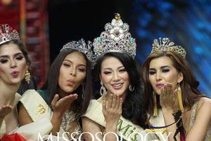 Chân dung mỹ nhân Việt Nam đăng quang Hoa hậu Trái đất 2018