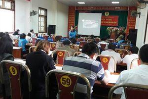 Công đoàn ngành NNPTNT Sơn La tổ chức tập huấn nghiệp vụ công tác công đoàn