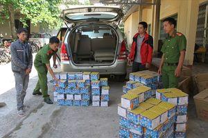 Điều khiển ôtô từ Quảng Bình lên vùng biên Quảng Trị để mua 250kg pháo hoa