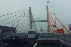 Cầu Bạch Đằng hơn 7.000 tỉ không bị lún, võng