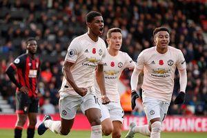 Ngược dòng phút bù giờ, MU thắng Bournemouth 2 - 1