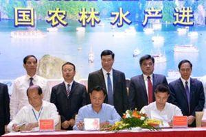 1.300 tỷ đồng được ký kết tại hội nghị XK nông sản sang Trung Quốc