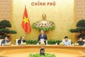 Chính phủ họp phiên thường kỳ tháng 10