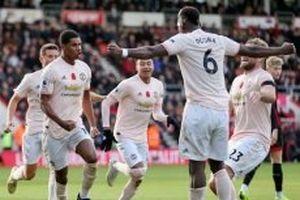 Man United thắng Bournemouth 2-1 phút bù giờ