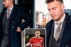 Đánh tài xế taxi vỡ hàm, cựu sao Arsenal nhận án tù