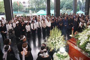 Lễ an táng đồng chí Nguyễn Thị Vân