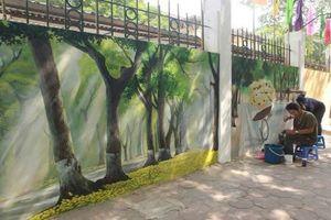 Những con phố bích họa nổi tiếng Hà thành cực hút khách