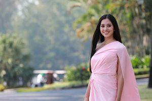 Hoa hậu Tiểu Vy và dàn người đẹp bên thềm Tiền Phong Golf Championship