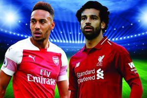 Tường thuật trực tiếp Arsenal vs Liverpool: Bữa tiệc tất công bất phân thắng bại