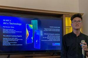 Xiaomi mang Mi MIX 3 đến Việt Nam
