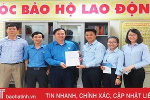 Trang bị 'Góc bảo hộ lao động' cho công nhân Formosa Hà Tĩnh