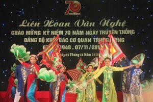 Văn nghệ kỷ niệm 70 năm truyền thống Đảng bộ Khối các cơ quan Trung ương