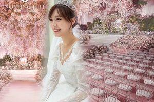 Lộ ảnh thử váy cưới và cận cảnh lễ đường xa hoa, đẹp như cổ tích của Đường Yên - La Tấn