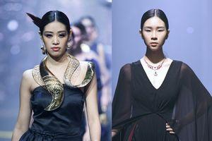 Đông Hạ, Khánh Vân cùng dàn chân dài Siêu mẫu VN 2018 thả bước catwalk trong show trang sức lớn nhất Việt Nam