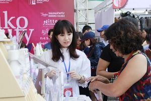2.000 mặt hàng Nhật Bản được giới thiệu tới người tiêu dùng Hà Nội