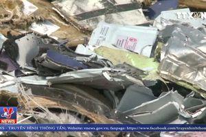 Indonesia phát hiện thân và động cơ máy bay gặp nạn