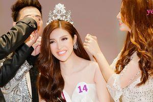 Bùi Lý Thiên Hương nhận vương miện 1 tỷ đồng khi đăng quang Miss Vietnam Worldwide