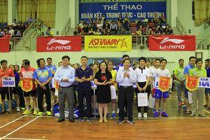 Thanh Hóa: Hơn 200 VĐV tranh tài giải Cầu lông cúp Li-Ning 2018