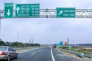 Ô tô được lưu thông trở lại trên cao tốc Nội Bài - Lào Cai