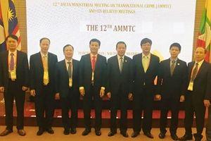 Đoàn đại biểu Việt Nam dự Hội nghị Bộ trưởng ASEAN về Phòng, chống tội phạm xuyên quốc gia lần thứ 12