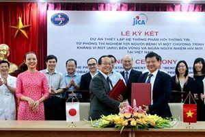 Nhật hợp tác ngăn ngừa nhiễm HIV mới tại Việt Nam