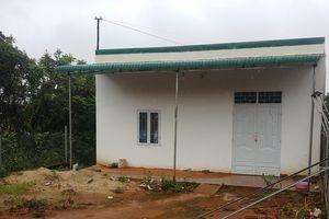 Đắk Nông: Bí thư Đảng ủy xã xây nhà trái phép trên đất công