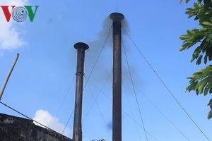 Sẽ dịch chuyển ống khói Nhà máy bia Hà Nội- Quảng Bình
