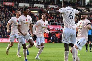 Rashford ghi bàn ở phút bù giờ, MU thắng nghẹt thở trước Bournemouth