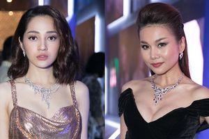 Mặc ồn ào yêu Quang Huy, Bảo Anh diện váy gợi cảm, đọ sắc bên dàn mỹ nhân