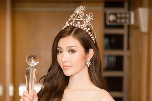 Bùi Lý Thiên Hương đăng quang Hoa hậu Việt Nam toàn thế giới 2018