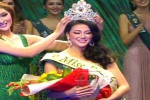 Người đẹp Việt Nam Nguyễn Phương Khánh đăng quang Hoa hậu Trái đất 2018