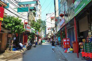 Đường Đình Thôn sẽ tuyến phố kiểu mẫu thứ 2 của Hà Nội