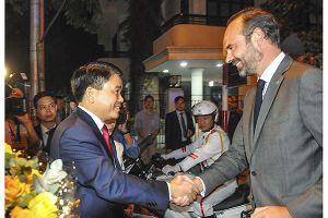 Thủ tướng Pháp Édouard Philippe: Hà Nội là thành phố đẹp, đầy tiềm năng, là nơi đầu tư xứng đáng