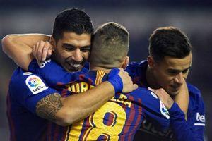 Ghi 2 bàn trong 3 phút, Barca thoát hiểm ngoạn mục trên sân tân binh