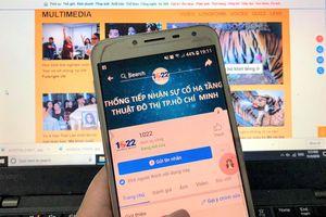 TP.HCM sử dụng mạng xã hội tiếp nhận thông tin sự cố